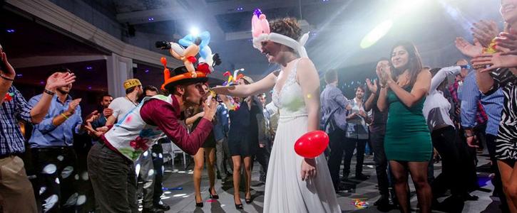 סוגי אטרקציות לחתונות